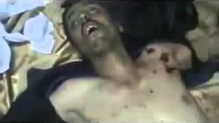 Repeat youtube video 18+ not for shock! FSA Free Syrian Army war Crimes - Massacre in Hama, FSA film their deeds