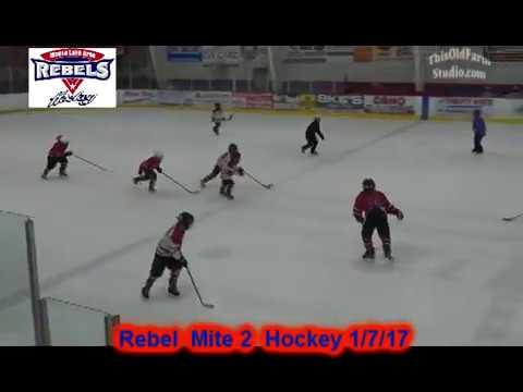Moose Lake Rebel Mite 2 Hockey 1/7/17