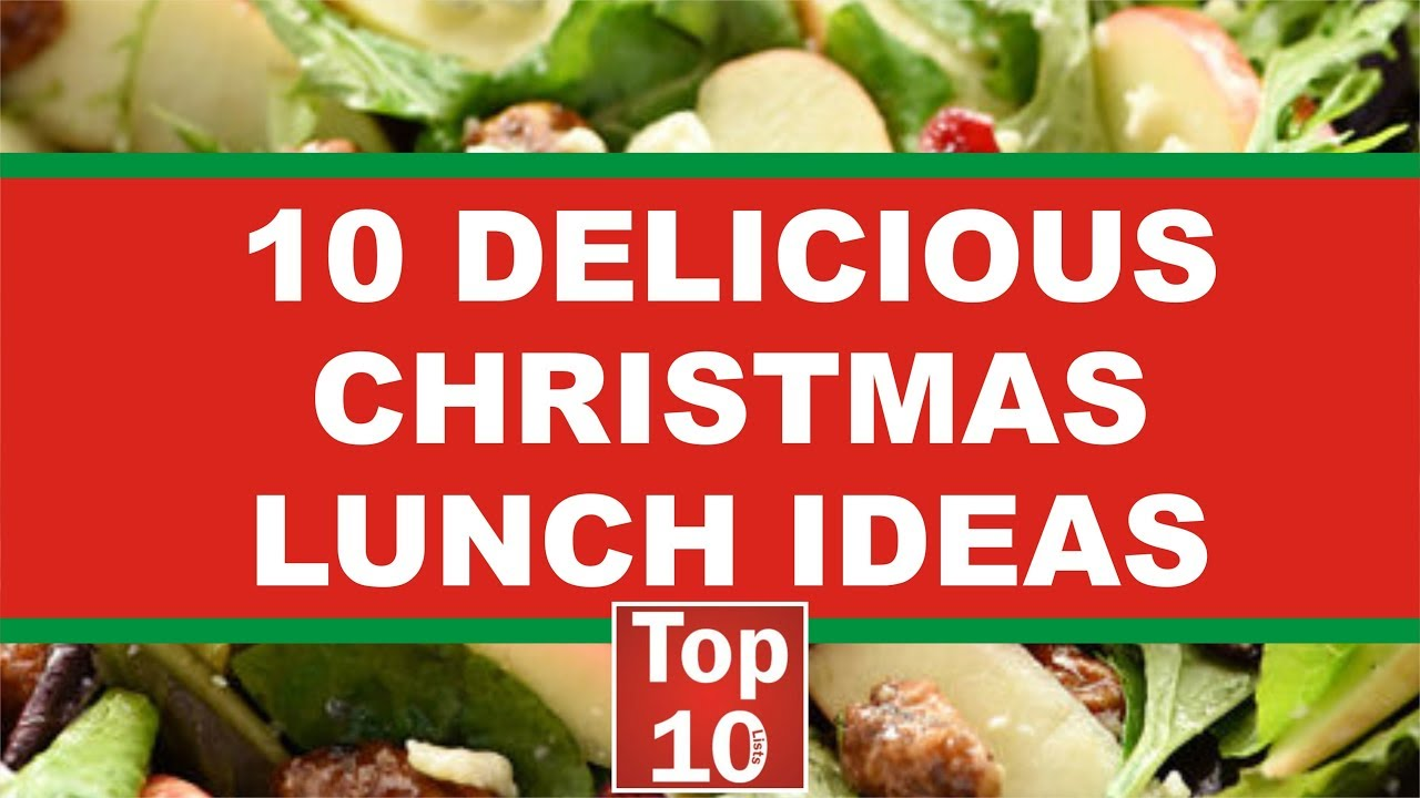 Christmas Lunch Ideas Top 10 Delicious Recipe 2018 Youtube