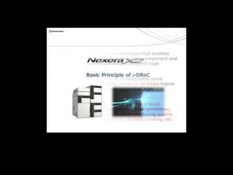 Shimadzu Nexera X2 Dramatically Extended Dynamic Range using i-DReC