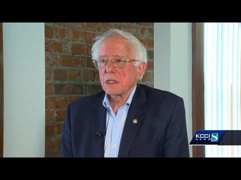 Bernie Sanders Offical Presidential Campaign Lapel Sticker Mayor 2020 LGBTQ Rare