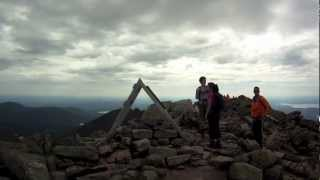 Mount Katahdin Knife Edge Hiking