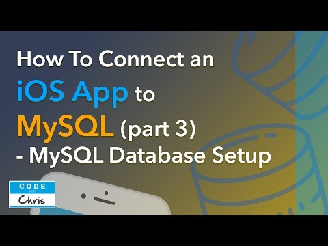 How To Connect An IOS App To A MySQL Database (Step By Step) - Part 3
