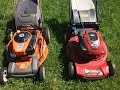 The Husqvarna & Toro Lawn Mower Bake-Off Competition -- Which Cuts Better -- May 2, 2017
