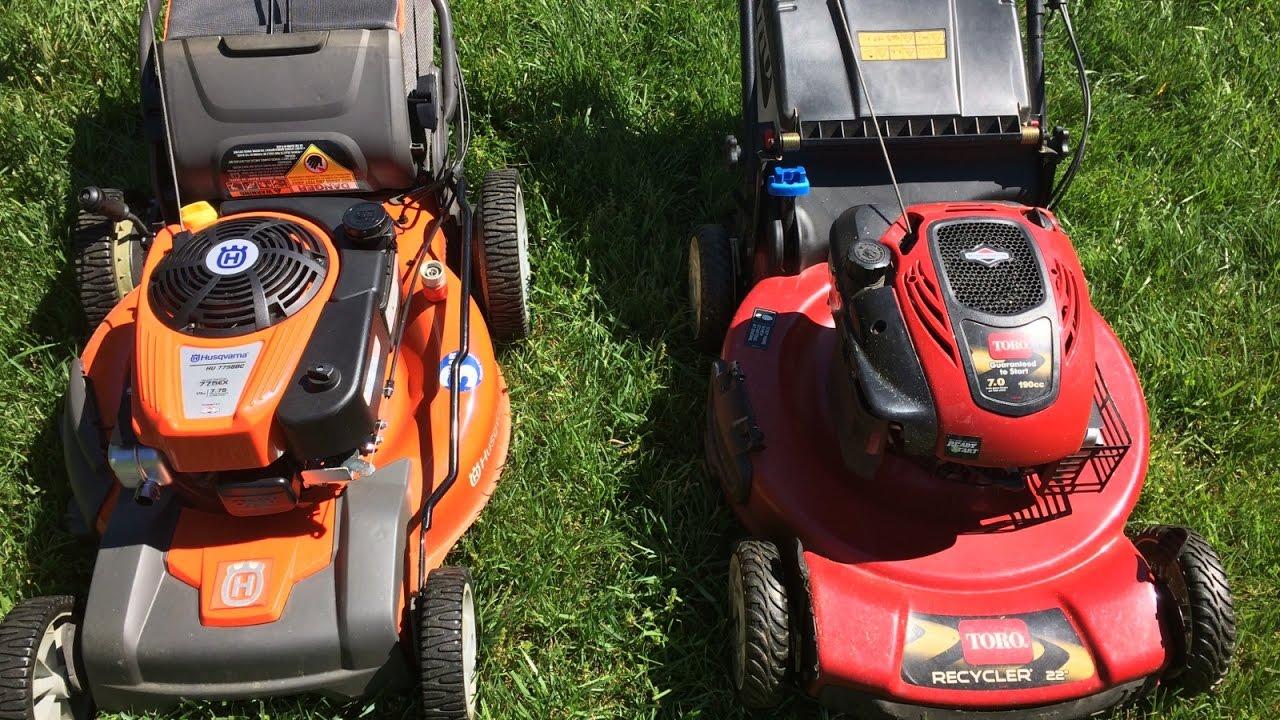 The Husqvarna Amp Toro Lawn Mower Bake Off Competition