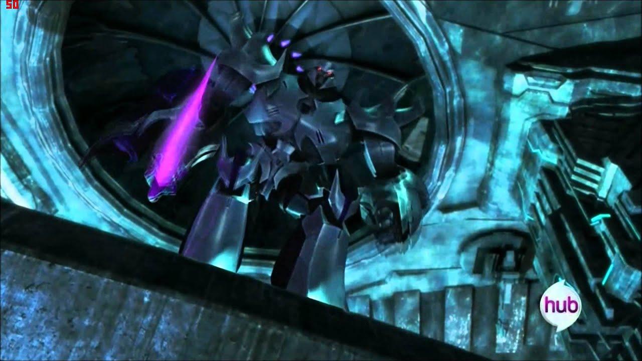 Transformers Prime Megatron's death - YouTube Transformers 3 Bumblebee Vs Megatron