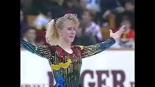 "Tonya Harding 1990 NHK Trophy (Asahikawa) SP ""Two Tribes"" by Frankie Goes to Hollywood"