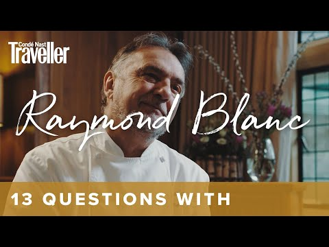 13 questions with... Raymond Blanc