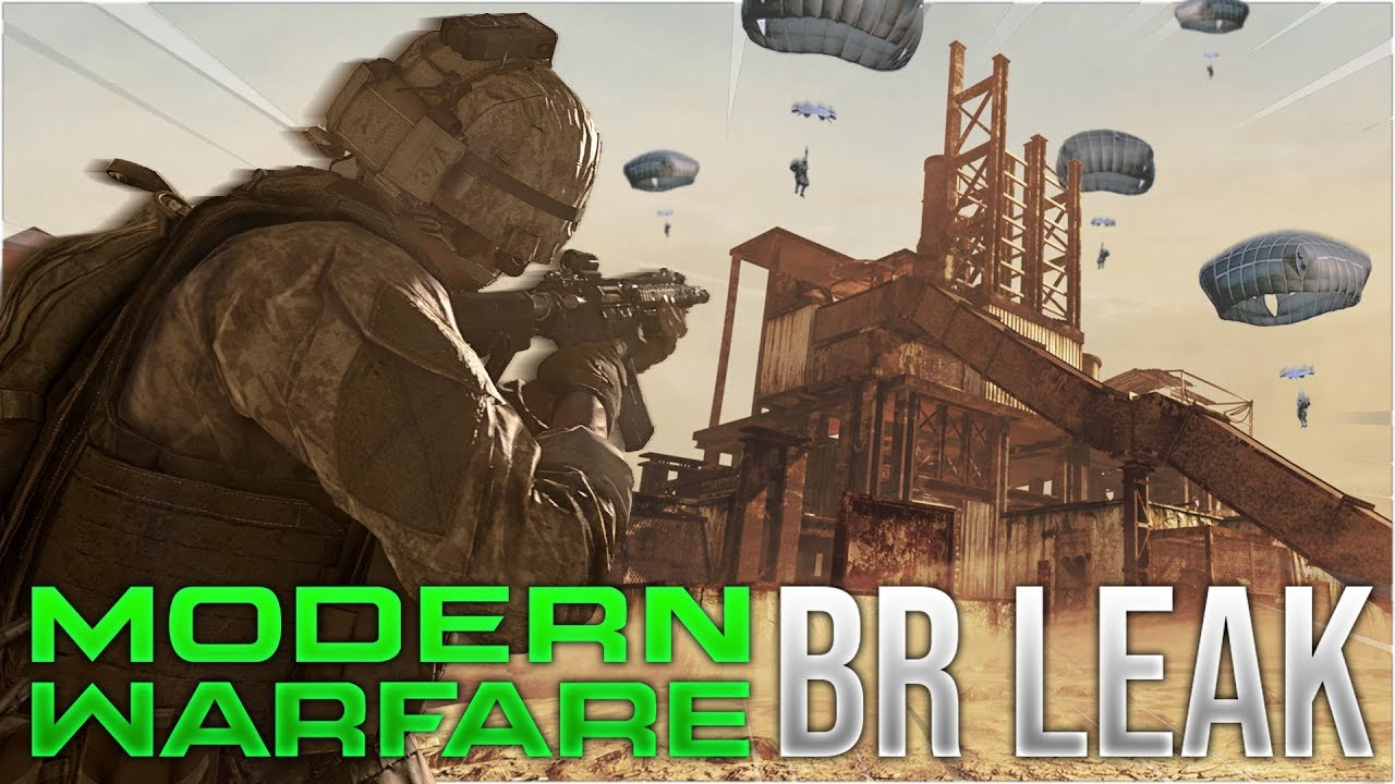 Call of Duty: Modern Warfare Battle Royale Mode Leak !? + video