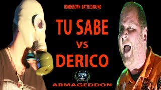 Derico vs Tu Sabe | Homegrown Battleground | Armageddon | Hosted by QP