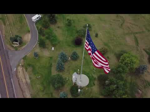 Great Falls Montana from a different perspective with the DJI Mavic Pro