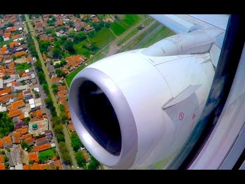 TIMELAPSE Experience Malaysia Airlines - FULL Flight from Jakarta to Kuala Lumpur [*!!*]