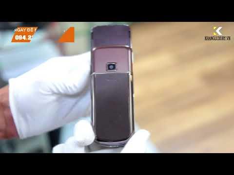 Nokia 8800 sapphire nâu chính hãng - [khangluxury.vn]