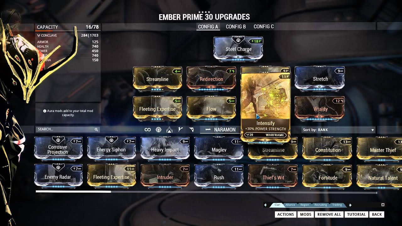 how to get ember prime relics