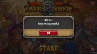 Empire Defense 2 Infinite Crystal Mod Gameplay