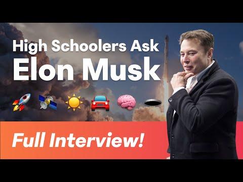 Hack Club AMA w/ Elon Musk