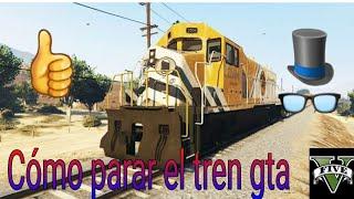 Gta v como parar el tren sin mods modo campaña