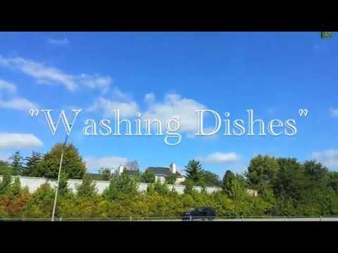 Washing Dishes (Lyrics Music Video) - Jack Johnson