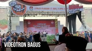 Sewa Videotron Murah | KPU, Deklarasi Kampanye Damai | Videotron Bagus