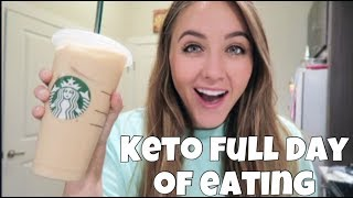 Keto Day of Eating | Getting Back to the Gym & Breakfast for Dinner!