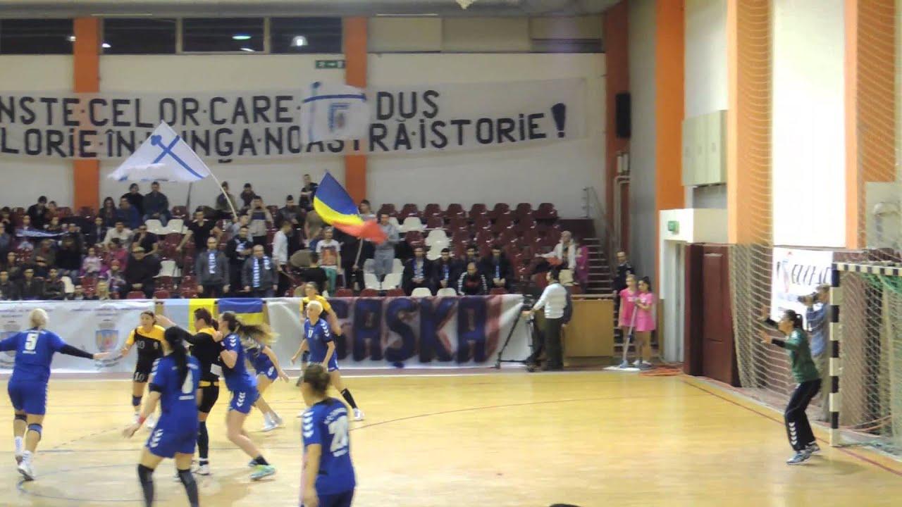 CSM Bucuresti- HC Dunarea Braila 28-21-atac ratat CSM-parada Gabriela Dobre