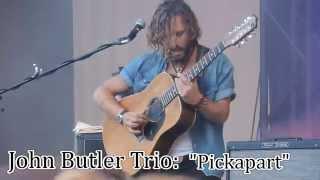 John Butler Trio: Pickapart, Calgary Folk Fest 2015