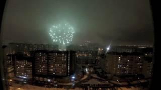 Новогодний Фейерверк 2017. Москва.