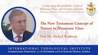 ITI International Symposium - Prof. Dr. Michael Waldstein (8/16)