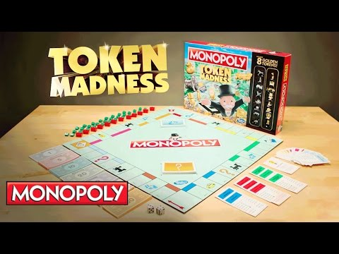 'Monopoly Token Madness' Official TV Spot - Hasbro Gaming