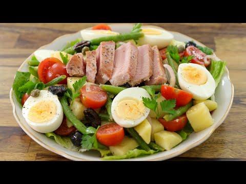 Nicoise Salad Recipe | How to Make Nicosie Salad