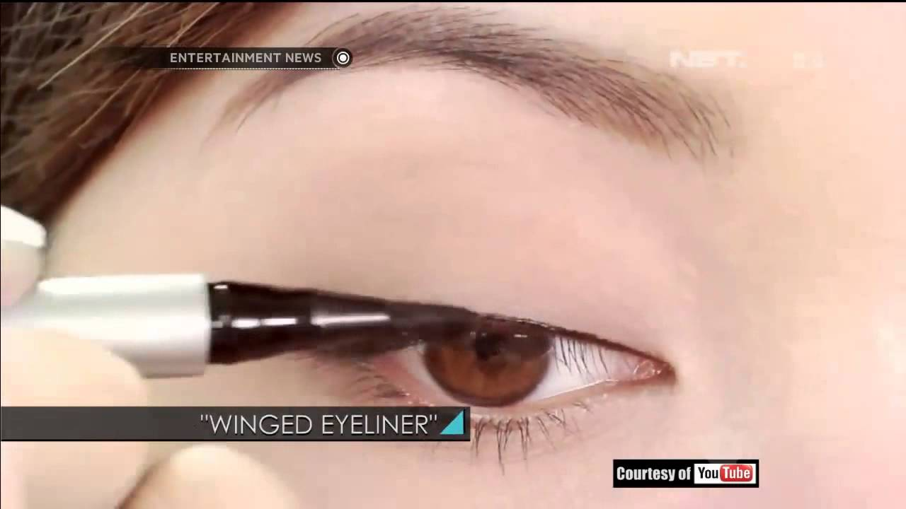 Tips Memakai Eyeliner Cair Youtube Viva Eye Liner Pencil Pensil Alis Original 13gr