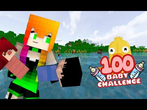 100 BABY CHALLENGE | 2.0 | MINECRAFT| 100K (#6)