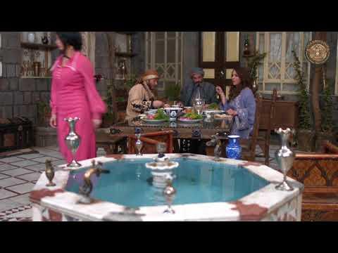 زعل مياسين على الغداء - مسلسل جرح الورد ـ الحلقة 16 السادسة عشر