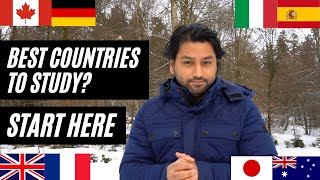 Study Abroad? 8 best countries to choose from   Costs, After study options etc.