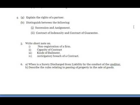 Business Law State Briefly The Rights And Obligations Of A Bailee