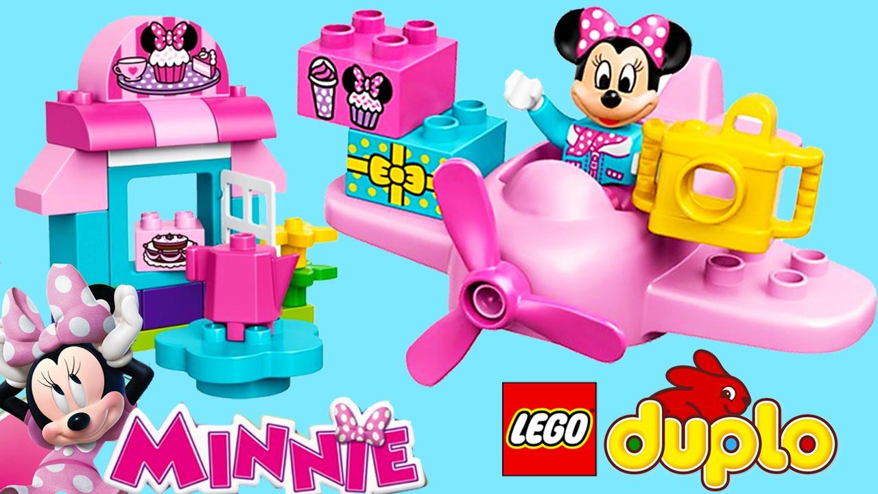 Lego Duplo Minnie Mouse Cake Cafe Airplane Lego Duplo Toy Kids