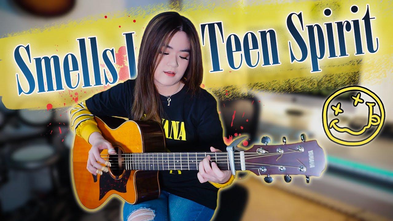 (Nirvana) Smells Like Teen Spirit - Fingerstyle Guitar Cover   Josephine Alexandra