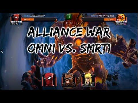 [AW] OMNI Vs SMRT1 - Marvel Contest of Champions