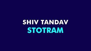 Shiva Tandava Stotram - lyrics easy simplified