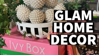 GLAM HOME DECOR TOUR: ENTRYWAY