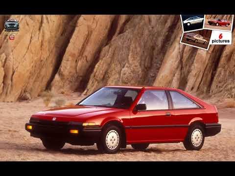 Honda Accord Hatchback 1987 Youtube