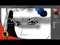 Walking Sketch speedpaint