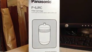 Unboxing the Panasonic P-6JRC Filter Cartridge