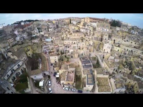I SASSI DI MATERA IN 4k - The stones of Matera in 4K - Riprese aeree con Drone