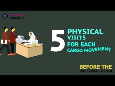 Electronic Tracking of the Cargo transfer - نظام المتابعة الالكترونية لنقل البضائع
