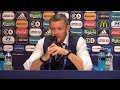 England U21 2-2 Germany U21 (Germany Win 4-3 On Pens) - Aidy Boothroyd Post Match Press Conference