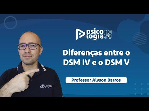 Diferenças entre o DSM IV e o DSM V