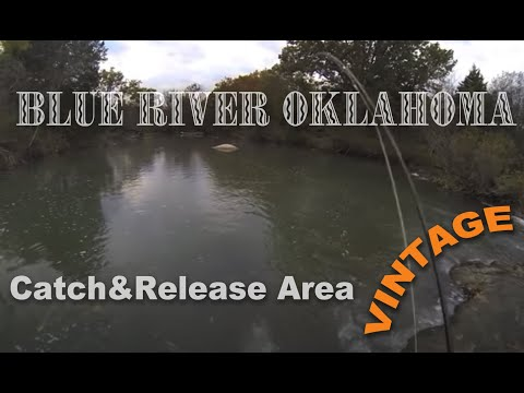 Blue River Oklahoma Fly Fishing Fall 2013 Youtube