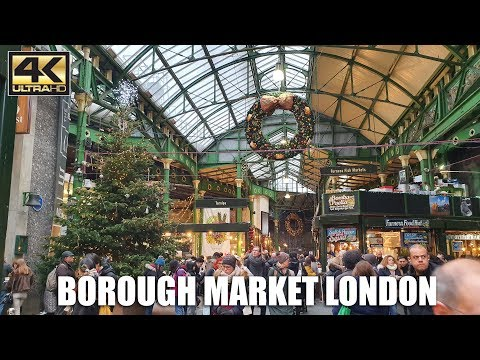 Borough Market London - Christmas Market Walking Tour from YouTube · Duration:  12 minutes 39 seconds