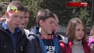 • Снежное, ДНР. Уличная библиотека для всех желающих